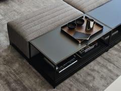 Tavolino rettangolare in metallo da salotto BAG | Tavolino rettangolare - Bag
