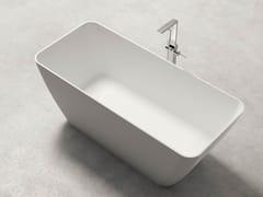 Vasca da bagno centro stanza rettangolare in KstoneBAHIA - KAROL ITALIA