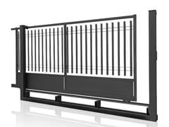 Cancello carrabile scorrevole in acciaioBALDABLOCK | Cancello scorrevole - GRIGLIATI BALDASSAR