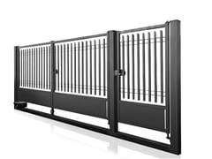 Cancello pedonale e carrabile in acciaioBALDABLOCK | Cancello in acciaio - GRIGLIATI BALDASSAR