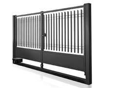Cancello carrabile a due ante in acciaioBALDABLOCK | Cancello - GRIGLIATI BALDASSAR
