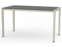 Tavolo da giardino rettangolare in HPLBALTIC | Tavolo in laminato - ADICO