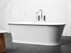 Vasca da bagno ovale in BluSolidBALTIMORE - BLUBLEU