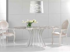 Tavolo in marmo Calacatta BAMBOO | Tavolo in marmo Calacatta - Contemporary