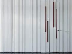 Porta a battente a filo muro laccata BAMBOO | Porta a battente - Bamboo