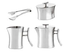 Servizio da tè in acciaio inoxBAMBOO | Servizio da tè - SAMBONET PADERNO INDUSTRIE