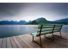 Stampa fotografica BENCH WITH A VIEW - ARTPHOTOLIMITED