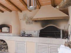 Barbecue in travertinoBarbecue 15 - GARDEN HOUSE LAZZERINI