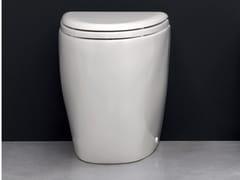 Wc in ceramica a pavimento BARCA | Wc a pavimento - Barca - Nina