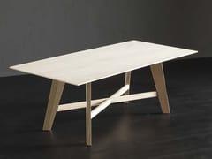 Tavolo da pranzo rettangolare in legno BARCELLONA + PECHINO - ECOLAB 2