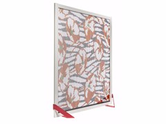Divisorio in alluminio BARCELONA SCREEN DIVIDER FLOWERS -