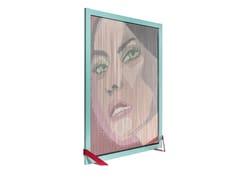 Divisorio in alluminio BARCELONA SCREEN DIVIDER GIRL FACE -