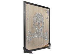 Divisorio in alluminio BARCELONA SCREEN DIVIDER SKULL -