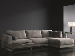 Divano componibile in tessuto con chaise longueBARCLAY | Divano componibile - BODEMA