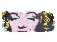 Tappeto fatto a mano in seta di bambù BARIVIERRA ICE CUT PR 031B - Henzel Studio Heritage: Andy Warhol / Art Rugs