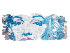 Tappeto fatto a mano in seta di bambù BARIVIERRA ICE CUT PR 031E - Henzel Studio Heritage: Andy Warhol / Art Rugs