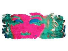 Tappeto fatto a mano in seta di bambù BARIVIERRA ICE CUT PR 031J - Henzel Studio Heritage: Andy Warhol / Art Rugs