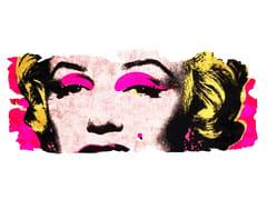 Tappeto fatto a mano in seta di bambù BARIVIERRA ICE CUT PR 031K - Henzel Studio Heritage: Andy Warhol / Art Rugs