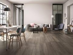 Pavimento ingelivo in gres porcellanato effetto legno per interni ed esterni BARK | Pavimento - Bark
