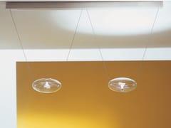 Lampada a sospensione a LED in vetro borosilicatoBARRA X2 POPONE - ALBUM ITALIA