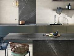 Rivestimento in gres porcellanato effetto pietra per interniBASALTO BEIGE ACTIVE | Rivestimento - ARIOSTEA