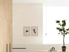 Rivestimento in gres porcellanato effetto pietra per interniBASALTO BIANCO ACTIVE | Rivestimento - ARIOSTEA