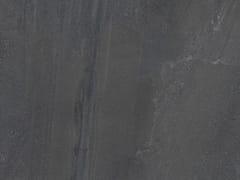 Pavimento/rivestimento in gres porcellanato effetto pietra per interniBASALTO NERO ACTIVE | Pavimento/rivestimento - ARIOSTEA