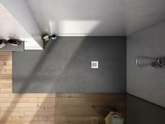 Acquabella, BASE SLATE Piatto doccia rettangolare in Akron©