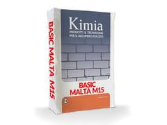 Kimia, BASIC MALTA M15 Malta fibrorinforzata