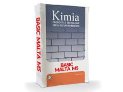 Malta pronta all'uso cementiziaBASIC MALTA M5 - KIMIA