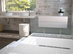 OMP, BASICFLOW Canaline per docce a pavimento
