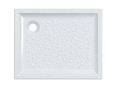 Piatto doccia antiscivolo rettangolareBASTIA | Piatto doccia rettangolare - GEBERIT