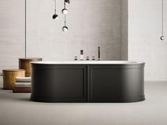 Vasca da bagno centro stanza idromassaggio ovale in acrilicoPAYDAY | Vasca da bagno - KAROL ITALIA