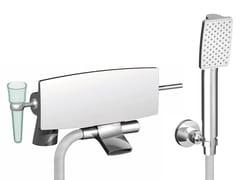 Miscelatore per vasca in ottone cromato con doccettaDE SOTO F3654/5 | Miscelatore per vasca - FIMA CARLO FRATTINI