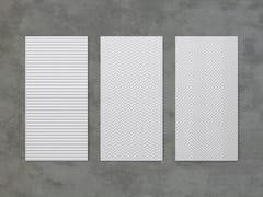 Pannello decorativo acustico ignifugo in fibra di cellulosaBAUX ACOUSTIC PULP - BAUX