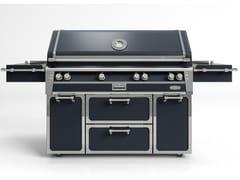 Barbecue a gas in acciaioBBQ56 | Barbecue - OFFICINE GULLO