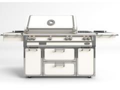 Barbecue a gas in acciaioBBQ56T | Barbecue - OFFICINE GULLO