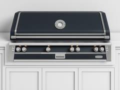 Barbecue a gas da incasso in acciaioBBQ56T | Barbecue da incasso - OFFICINE GULLO