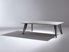 Tavolo laccato rettangolare in legno BD12 - Maxima