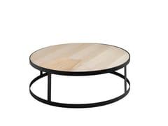 Tavolino basso rotondo in ferroBEA | Tavolino basso - IN ITALY