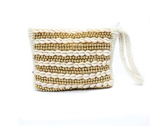 Borsa in cotone BEADED | Borsa - BAZAR BIZAR