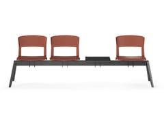 Seduta su barra a pavimento in polipropileneYUGEN | Seduta su barra - ARTE & D