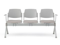 Seduta su barra a pavimento con braccioli VOLÉE EASY SOFT | Seduta su barra - Volée Easy Soft