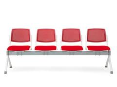 Seduta su barra a pavimento in tessutoVOLÉE NET SOFT | Seduta su barra - DIEMMEBI
