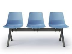 Seduta su barraCLUE | Seduta su barra - QUADRIFOGLIO SISTEMI D'ARREDO