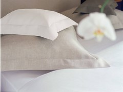 Coordinato letto a tinta unita in linoCYTHERE   Coordinato letto - ALEXANDRE TURPAULT