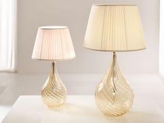 Lampada da comodino a luce diretta in vetro soffiatoLACRIMA | Lampada da comodino - CANGINI & TUCCI