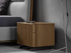 Comodino in legno con cassettiCLOE | Comodino - TOMASELLA IND. MOBILI