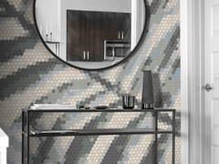 Mosaico in vetro riciclatoBEIGE PALM - TRUFLE MOZAIKI