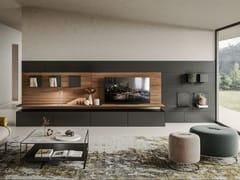Mobile TV componibile in legno e metalloBENCH - APP DESIGN